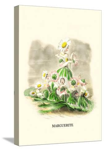 Marguerite-J^J^ Grandville-Stretched Canvas Print