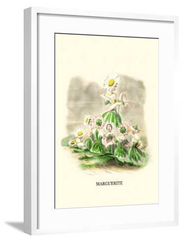 Marguerite-J^J^ Grandville-Framed Art Print