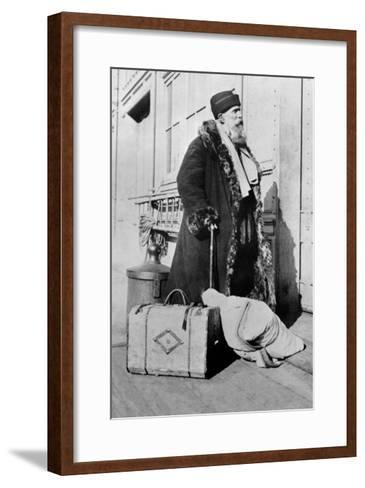 Russian Immigrant--Framed Art Print