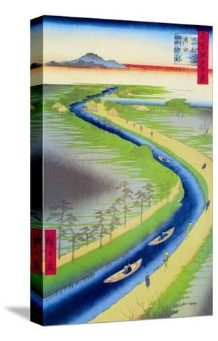 View of Mount Fuji-Ando Hiroshige-Stretched Canvas Print