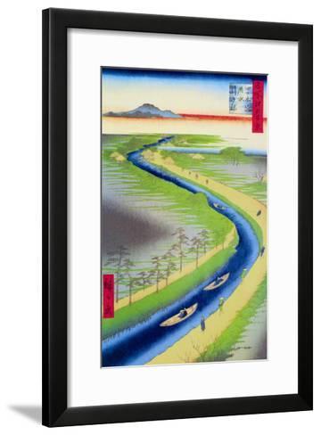 View of Mount Fuji-Ando Hiroshige-Framed Art Print