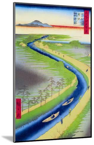 View of Mount Fuji-Ando Hiroshige-Mounted Art Print