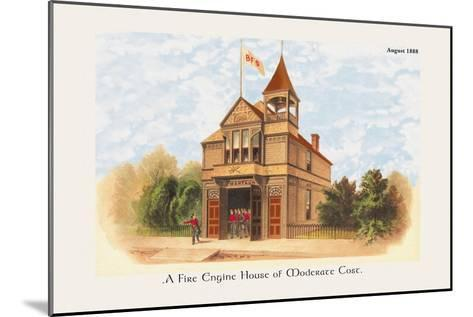Fire Engine House at Moderate Cost--Mounted Art Print