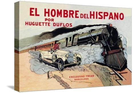 El Hombre del Hispano--Stretched Canvas Print