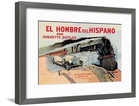 El Hombre del Hispano--Framed Art Print