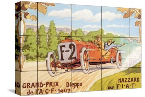 Grand-Prix--Stretched Canvas Print