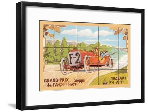 Grand-Prix--Framed Art Print