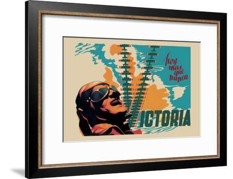 Victory-Josep Renau Montoro-Framed Art Print