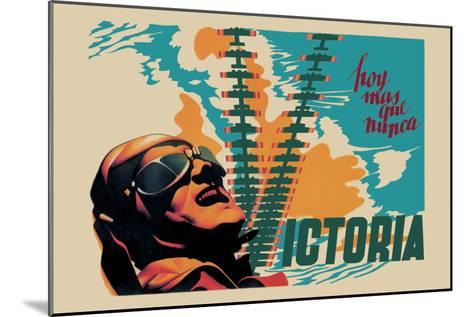 Victory-Josep Renau Montoro-Mounted Art Print