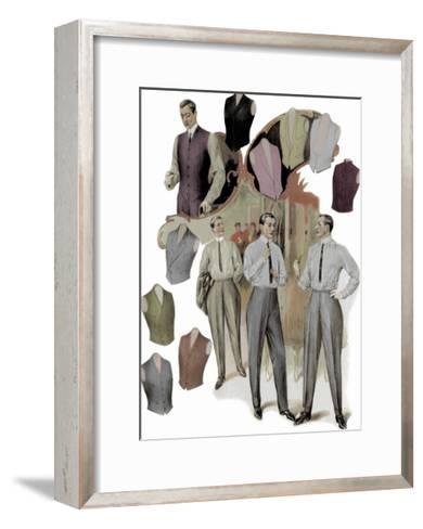 The Right Vest--Framed Art Print