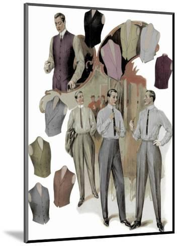 The Right Vest--Mounted Art Print