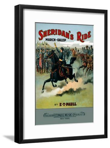 Sheridan's Ride: March-Galop--Framed Art Print