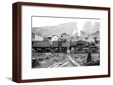 Rolling Thunder in a Clearcut Camp-Clark Kinsey-Framed Art Print