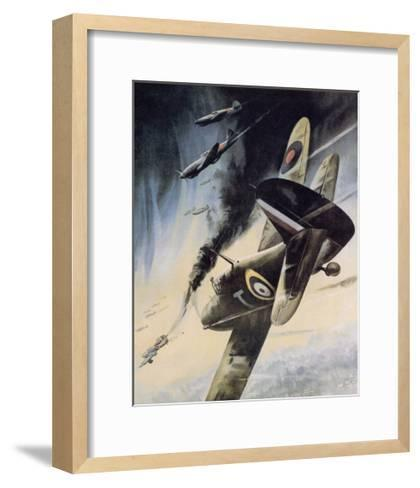 Back Them Up!- Jobson-Framed Art Print