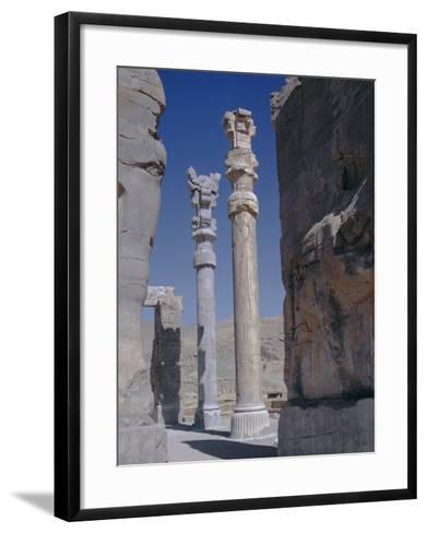 Persepolis, Iran, Middle East, Asia-Robert Harding-Framed Art Print