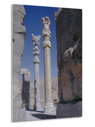 Persepolis, Iran, Middle East, Asia-Robert Harding-Metal Print