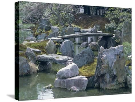 Garden, Nijo Castle, Kyoto, Japan, Asia-Robert Harding-Stretched Canvas Print