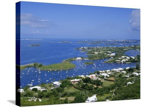View from Gibbs Hill, Bermuda, Atlantic Ocean, Central America-Robert Harding-Stretched Canvas Print