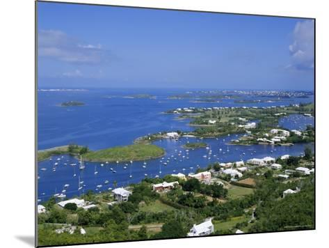 View from Gibbs Hill, Bermuda, Atlantic Ocean, Central America-Robert Harding-Mounted Photographic Print