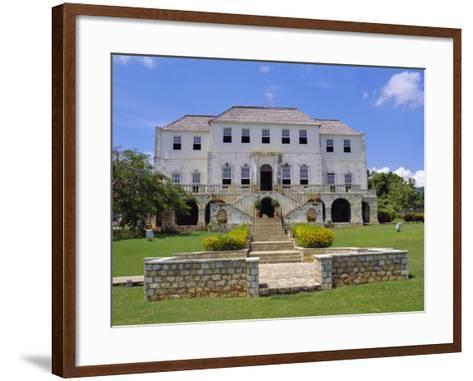 Rose Hall, Jamaica, Caribbean, West Indies-Robert Harding-Framed Art Print