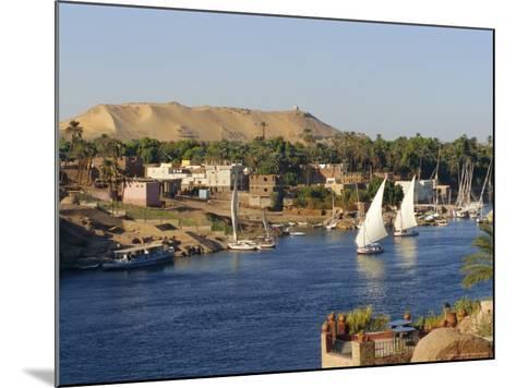 Elephantine Island and River Nile, Aswan, Egypt, North Africa-Robert Harding-Mounted Photographic Print
