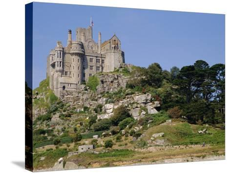 St. Michael's Mount, Castle, Cornwall, England, UK-Ken Gillham-Stretched Canvas Print