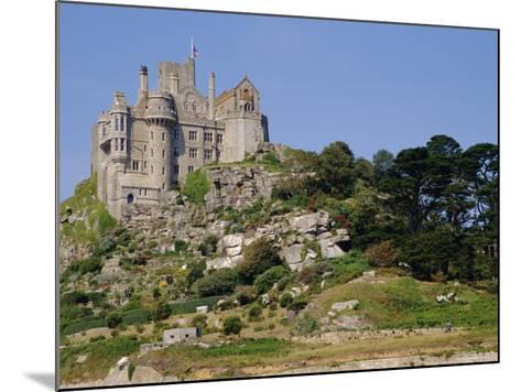 St. Michael's Mount, Castle, Cornwall, England, UK-Ken Gillham-Mounted Photographic Print