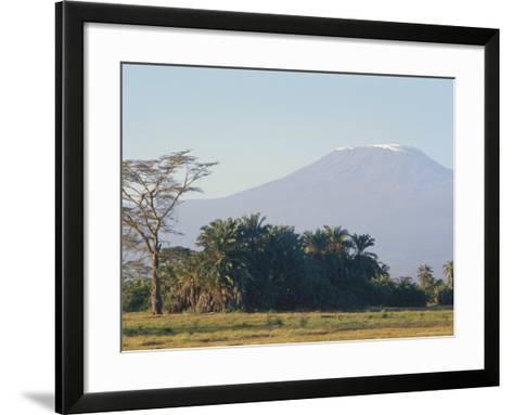 Mt. Kilimanjaro, Amboseli, Kenya, Africa-Robert Harding-Framed Art Print