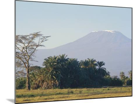 Mt. Kilimanjaro, Amboseli, Kenya, Africa-Robert Harding-Mounted Photographic Print