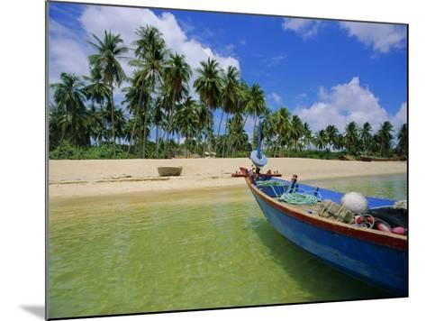 Deserted Beach on South Coast, Phu Quoc Island, Vietnam-Tim Hall-Mounted Photographic Print
