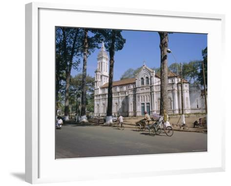 The Cathedral, Ho Chi Minh City (Formerly Saigon), Vietnam, Indochina, Southeast Asia, Asia-Tim Hall-Framed Art Print