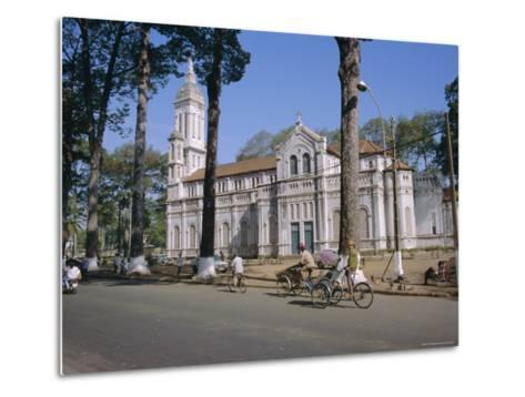 The Cathedral, Ho Chi Minh City (Formerly Saigon), Vietnam, Indochina, Southeast Asia, Asia-Tim Hall-Metal Print