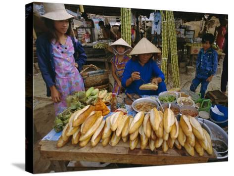 Sandwiches on French Bread, Nha Trang, Vietnam, Indochina, Southeast Asia, Asia-Tim Hall-Stretched Canvas Print