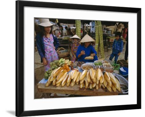 Sandwiches on French Bread, Nha Trang, Vietnam, Indochina, Southeast Asia, Asia-Tim Hall-Framed Art Print