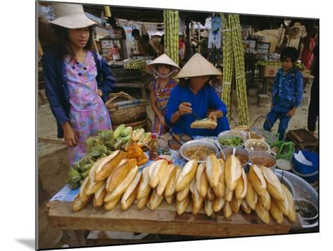 Sandwiches on French Bread, Nha Trang, Vietnam, Indochina, Southeast Asia, Asia-Tim Hall-Mounted Photographic Print