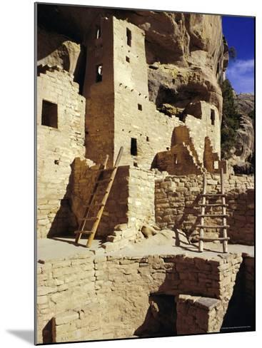 Cliff Palace, Mesa Verde, Anasazi Culture, Colorado, USA-Walter Rawlings-Mounted Photographic Print