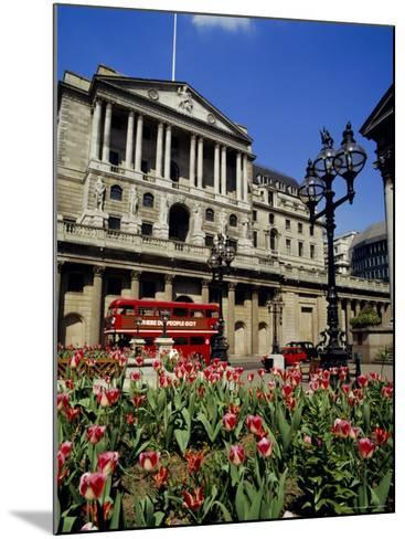 The Bank of England, Threadneedle Street, City of London, England, UK-Walter Rawlings-Mounted Photographic Print