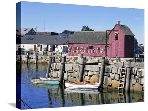 Rockport, Cape Ann, Northeast from Boston, Massachusetts, New England, USA-Walter Rawlings-Stretched Canvas Print