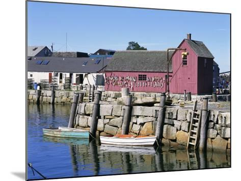 Rockport, Cape Ann, Northeast from Boston, Massachusetts, New England, USA-Walter Rawlings-Mounted Photographic Print