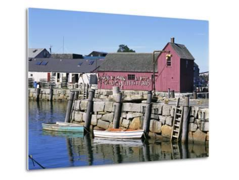 Rockport, Cape Ann, Northeast from Boston, Massachusetts, New England, USA-Walter Rawlings-Metal Print