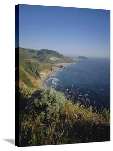 Big Sur Coast, California, USA-Geoff Renner-Stretched Canvas Print