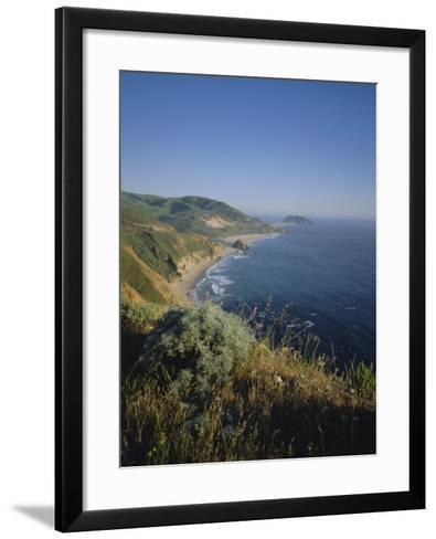 Big Sur Coast, California, USA-Geoff Renner-Framed Art Print