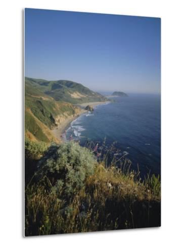 Big Sur Coast, California, USA-Geoff Renner-Metal Print