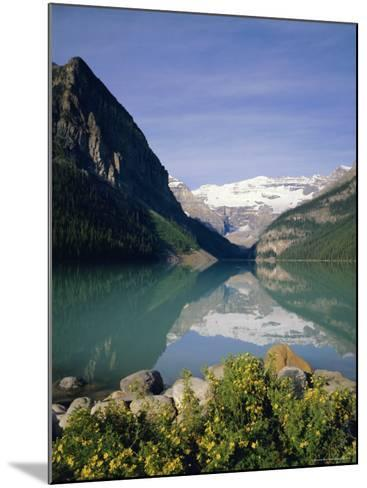 Lake Louise, Banff National Park, Rocky Mountains, Alberta, Canada-Geoff Renner-Mounted Photographic Print