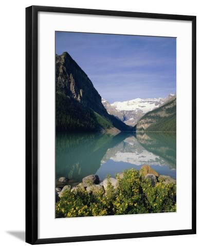 Lake Louise, Banff National Park, Rocky Mountains, Alberta, Canada-Geoff Renner-Framed Art Print