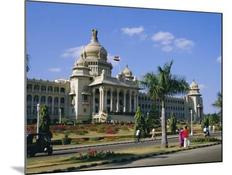 State Legislature & Secretariat Building, Bangalore, Karnataka State, India-Jenny Pate-Mounted Photographic Print