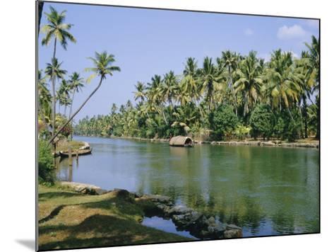 The Backwaters at Chavara, Kerala State, India, Asia-Jenny Pate-Mounted Photographic Print