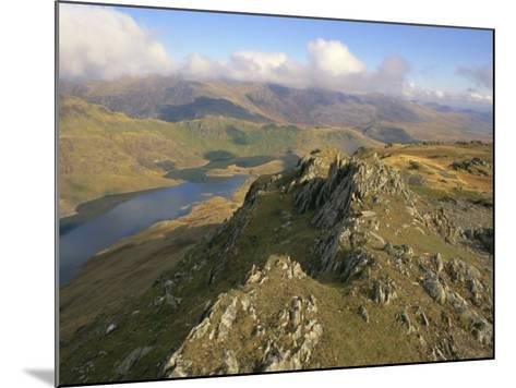 Llynllydow from Snowdon Horseshoe, Snowdonia National Park, Gwynedd, Wales, UK, Europe-Lorraine Wilson-Mounted Photographic Print