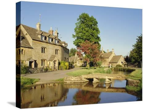 Lower Slaughter, the Cotswolds, Gloucestershire, England, UK-Philip Craven-Stretched Canvas Print