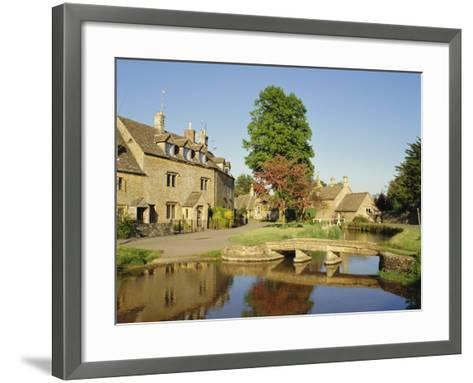 Lower Slaughter, the Cotswolds, Gloucestershire, England, UK-Philip Craven-Framed Art Print